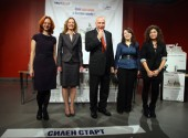 Deputy Minister of Education Damyanova and ACHassiotis give the start to High Start2011_small