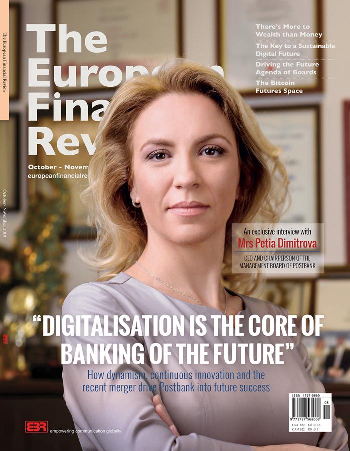 Cover_The European Financial Review_P. Dimitrova